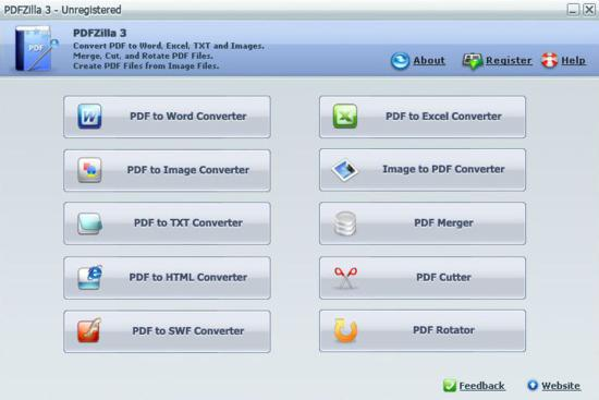 PDFZilla -pdf converter