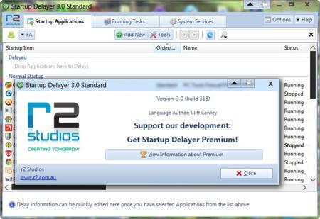 Startup Delayer standard