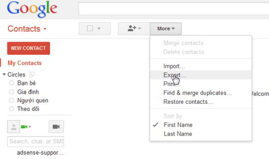 export-contacts-gmail