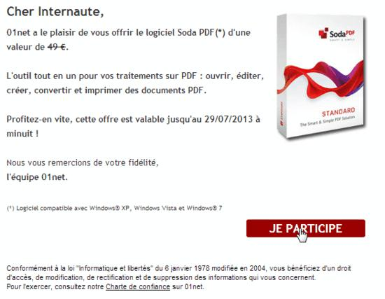 Soda pdf standard giveaway 2013