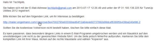 TuneUp Utilities 2012 -confirm