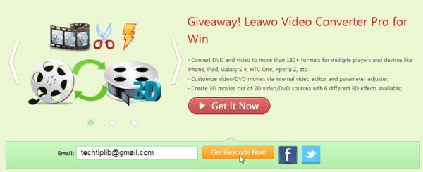Join the Giveaway of Leawo Video Converter Pro for Windows-8-2013