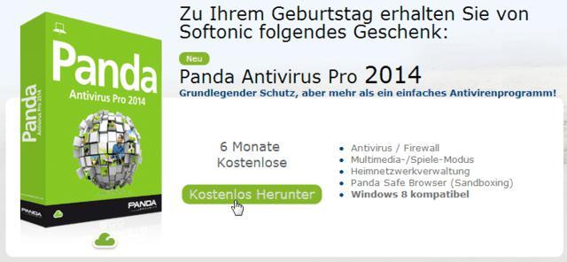 Panda Antivirus Pro 2014 for 6 months