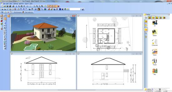 Ashampoo Home Designer screenshot