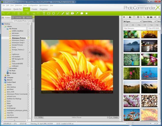 Ashampoo Photo Commander 10 screenshot