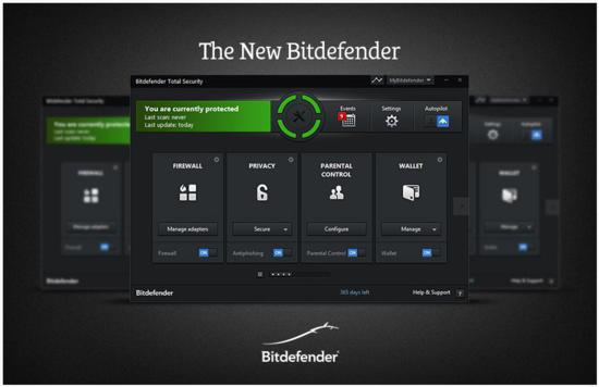 Bitdefender Total Security 2014 main