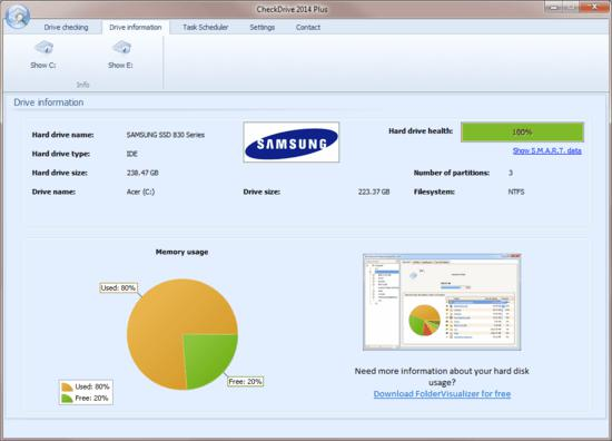CheckDrive 2014 screenshot 2