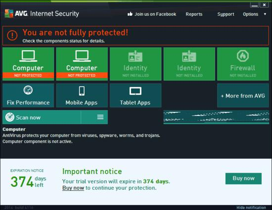 Free AVG Internet Security 2014 from SOS