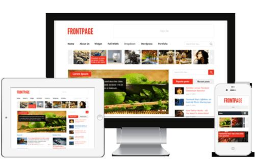 FrontPage_WordPress_Theme