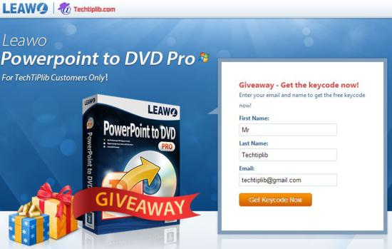 leawo powerpoint to video pro registration code free