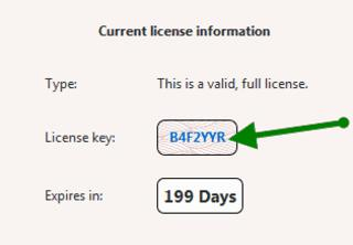 License key of Bitdefender Total Security 2014