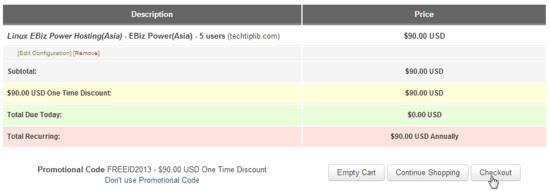 Check out FREE linux EBiz Power Hosting
