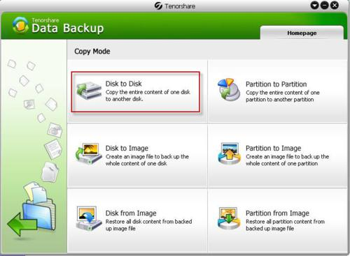 Tenorshare Data Backup 2 screenshot