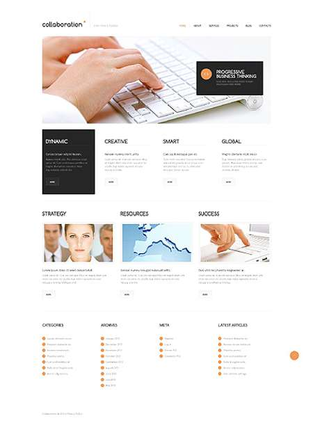 Best Marketing Agency Responsive Theme