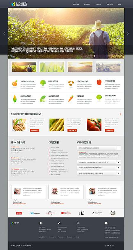 The best Agriculture-Related WordPress Website
