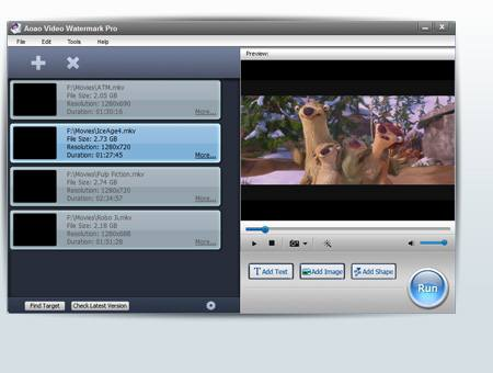 Aoao Video Watermark Pro screenshot