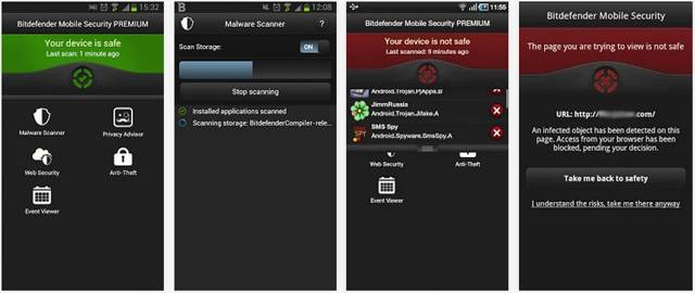 Bitdefender Mobile Security for Android screenshot 1