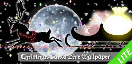 Christmas Santa Live Wallpaper