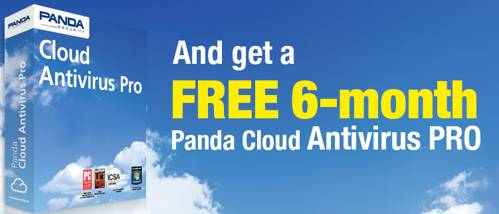 Free 6 months of Panda Cloud Antivirus PRO