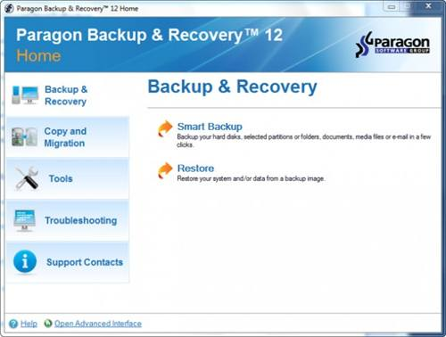 Paragon Backup & Recovery 12 Compact for PC screenshot