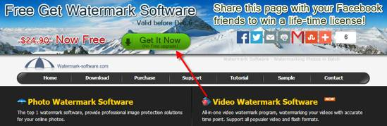 Photo watermark software giveaway - nov-2013
