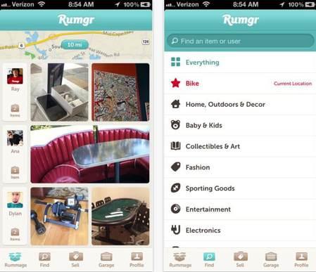Rumgr screenshot