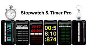 Stopwatch and Timer Pro 1