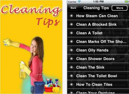 Useful Cleaning Tips screenshot
