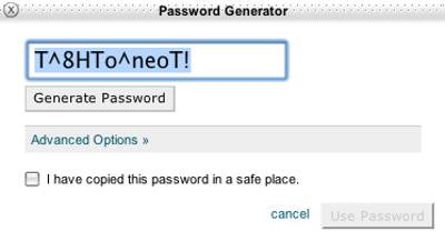 The Password Generator