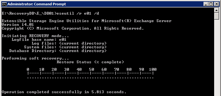 repair exchange EDB file 3