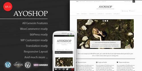 AyoShop-FREE WooCommerce WordPress Themes