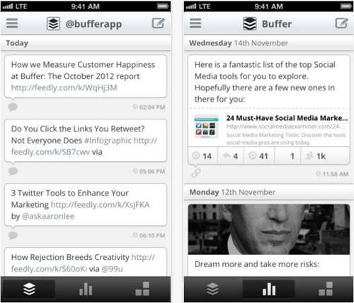 Buffer for Twitter and Facebook screenshot