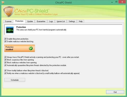 ChicaPC-Shield PRO screenshot