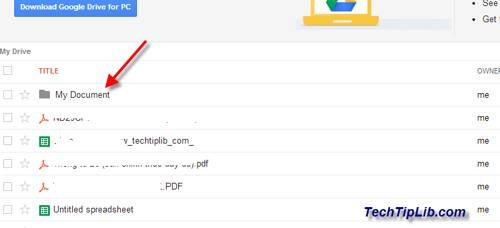 Create folder in Google Drive on web 4