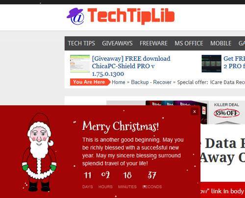 Holiday Message-techtiplib
