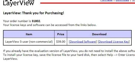 LayerView get free license 2