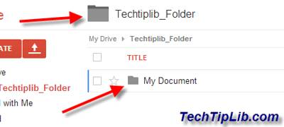 Move folder in Google Drive on web 3