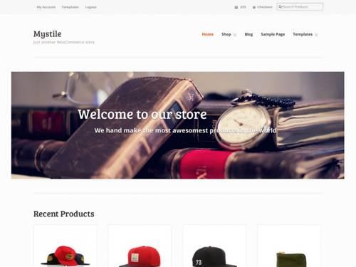 Mystile-FREE WooCommerce WordPress Themes