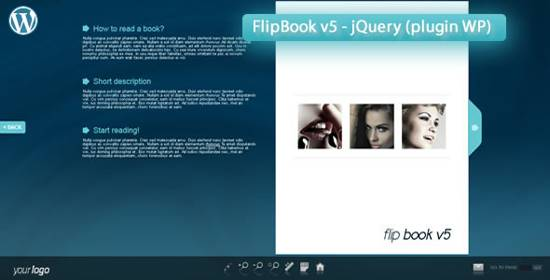 Responsive FlipBook v5 - jQuery (plugin WP)