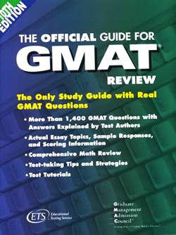 The Official Guide for GMAT Review 10th Edition