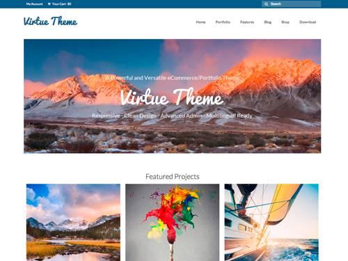 Virtue-FREE WooCommerce WordPress Themes