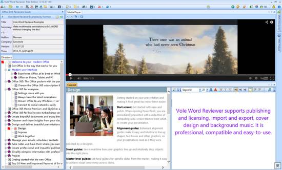 Vole Word Reviewer Profession Edition screenshot