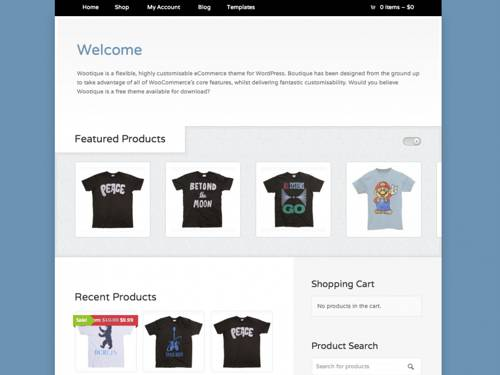 Wootique-FREE WooCommerce WordPress Themes