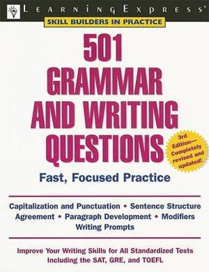 501 Grammar and Writing Questions 3rd