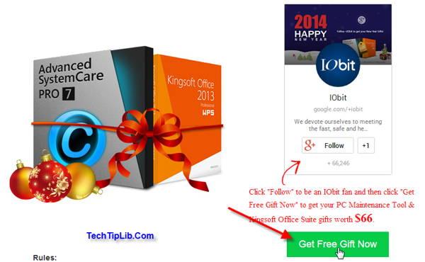 Advanced SystemCare 7 Pro & Kingsoft Offfice Pro 1
