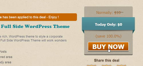 Get FREE FullSide WordPress Theme_step 1