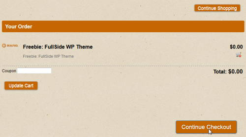 Get FREE FullSide WordPress Theme_step 3