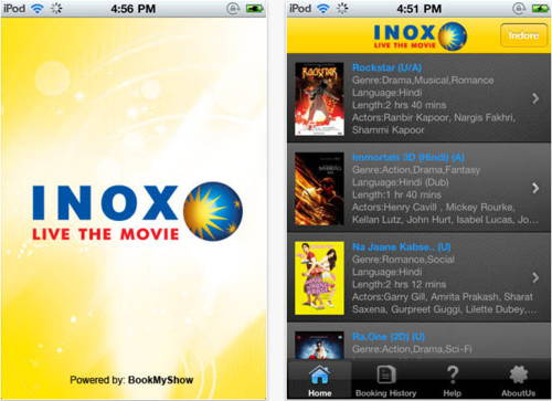 INOX free for iphone 1