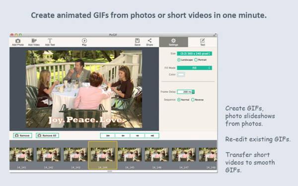 PicGIF for Mac 1