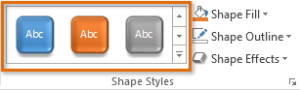 Theme Effects MS powerpoint 2013